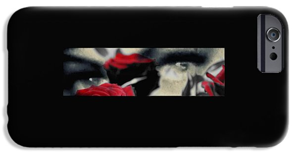 Seductive iPhone Cases - Passion and pain the photo iPhone Case by Frances Lewis
