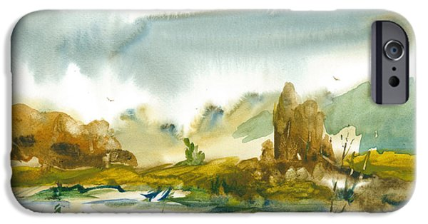 Village iPhone Cases - Passion iPhone Case by Sveatoslav Zacon