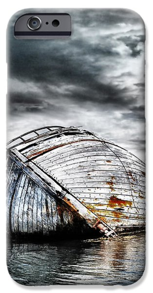 Past Glory iPhone Case by Photodream Art