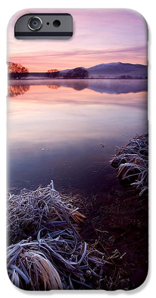 Pastel Dawn iPhone Case by Mike  Dawson