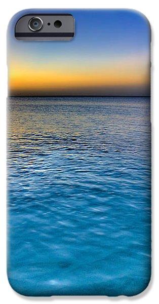 Pastel Ocean iPhone Case by Chad Dutson