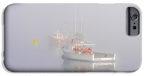 Boat iPhone Cases - Pastel Tranquility iPhone Case by Marty Saccone