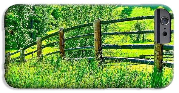 Pastureland iPhone Cases - Pastureland iPhone Case by Brent Sisson