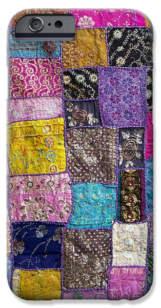 Sew iPhone Cases - Patchwork iPhone Case by Tim Gainey