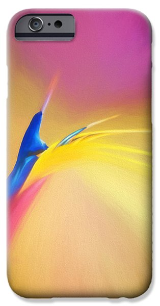 Nature Abstracts iPhone Cases - Patchy Colors iPhone Case by Maria Coulson