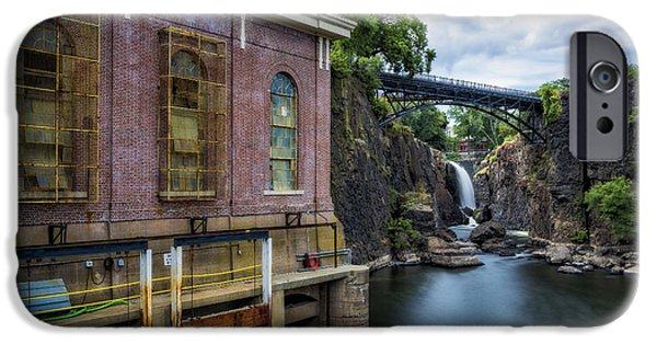 River View iPhone Cases - Paterson Great Falls II iPhone Case by Susan Candelario