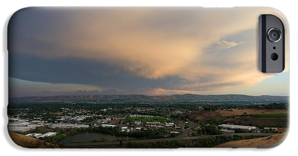 Thunderhead iPhone Cases - Path of the Storm iPhone Case by Mike Dawson