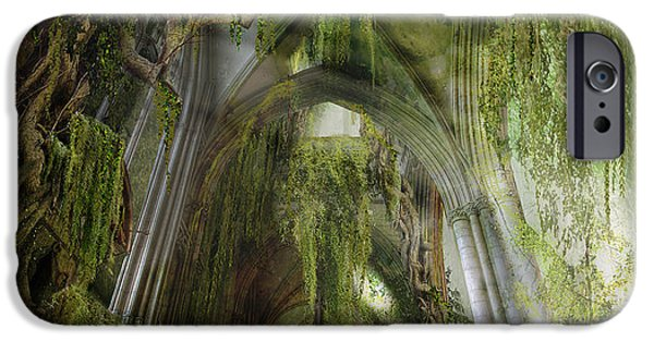 Overgrown iPhone Cases - Path to Inner Peace iPhone Case by Karen H