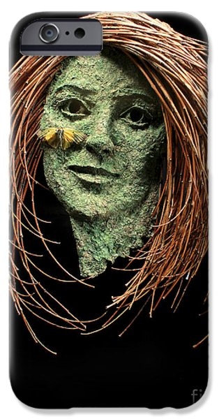 Human Figure Reliefs iPhone Cases - Patience iPhone Case by Adam Long
