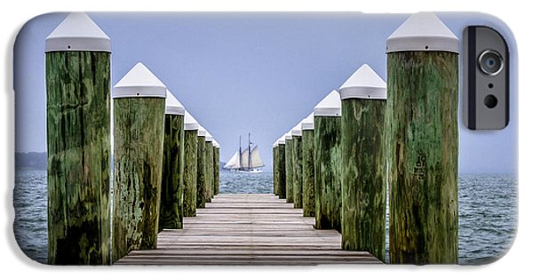 Recently Sold -  - Sailboats iPhone Cases - Patience iPhone Case by Kevin Walsh
