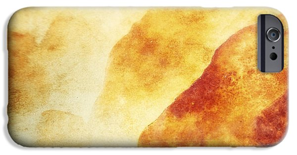 Rust Photographs iPhone Cases - Patina 2 iPhone Case by Priska Wettstein