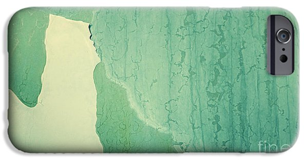 Rust Photographs iPhone Cases - Patina 3 iPhone Case by Priska Wettstein