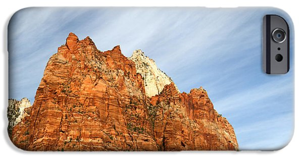 Patriarch iPhone Cases - Patriarch in Zion iPhone Case by Pierre Leclerc Photography