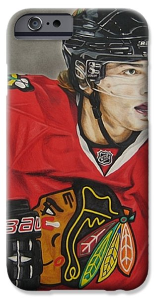 Patrick Kane iPhone Case by Brian Schuster
