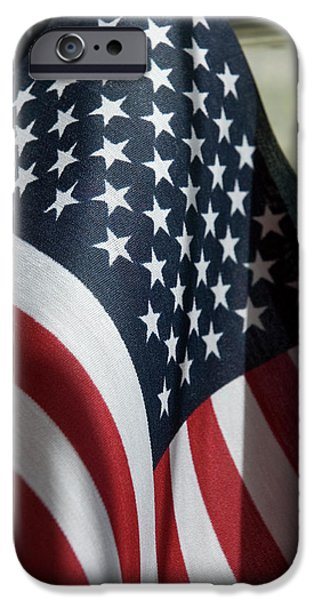 4th July Photographs iPhone Cases - Patriotism iPhone Case by Jerry McElroy