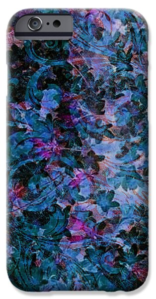 Abstract Fashion Designer Art iPhone Cases - Pattern 199 iPhone Case by Irina Effa
