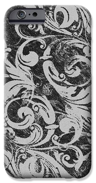 Abstract Fashion Designer Art iPhone Cases - Pattern 200 iPhone Case by Irina Effa