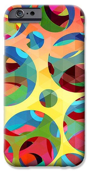 Animation iPhone Cases - Pattern 3 iPhone Case by Mark Ashkenazi