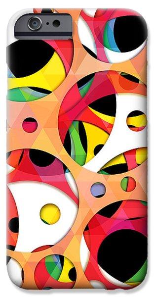 Animation iPhone Cases - Pattern 4  iPhone Case by Mark Ashkenazi