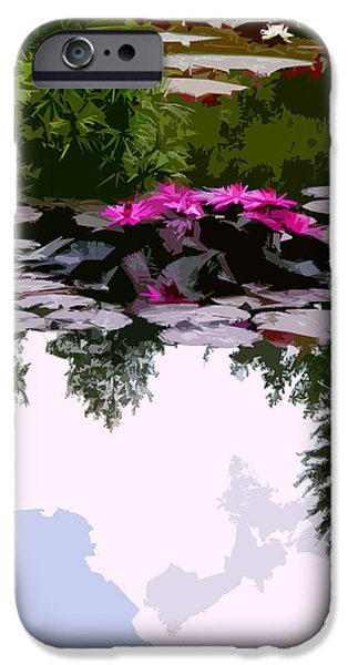 Patterns of Peace iPhone Case by John Lautermilch