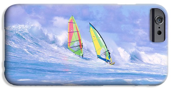 Adrenaline iPhone Cases - Paul And Gary iPhone Case by Erik Aeder - Printscapes
