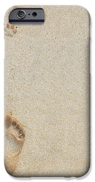 Paw and Footprints 2 iPhone Case by Brandon Tabiolo - Printscapes