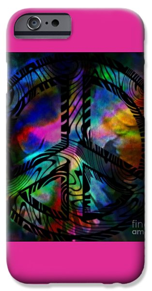 Peace #1 iPhone Case by WBK
