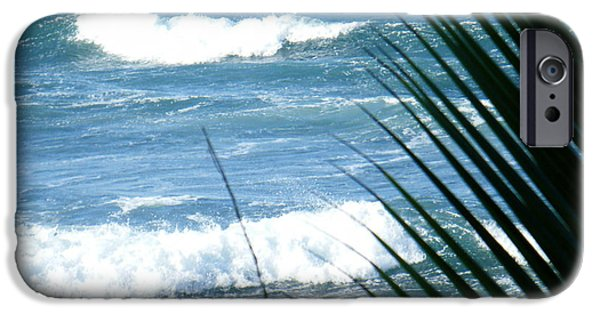 Rincon Beach iPhone Cases - Peace iPhone Case by Mary Anne Minerva