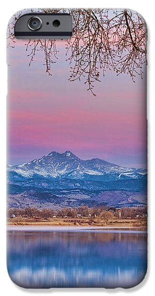 Peaceful Early Morning First Light Longs Peak View iPhone Case by James BO  Insogna