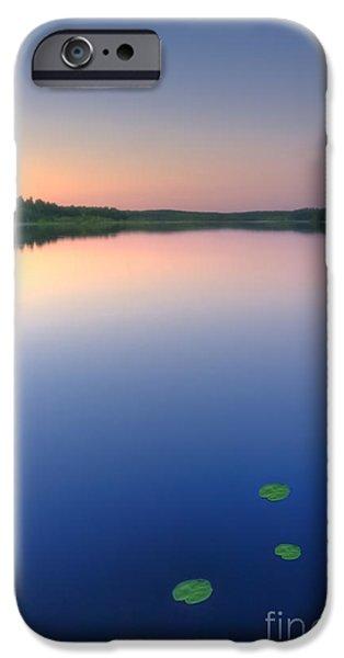 Rural iPhone Cases - Peaceful evening iPhone Case by Veikko Suikkanen