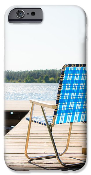 Lawn Chair iPhone Cases - Peaceful Light iPhone Case by Shelby  Young