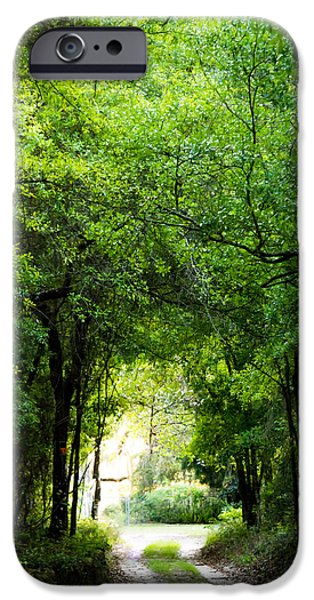 Overhang iPhone Cases - Peaceful Tranquility iPhone Case by Shelby  Young