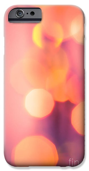 Psychedelic Photographs iPhone Cases - Peach Melba iPhone Case by Jan Bickerton