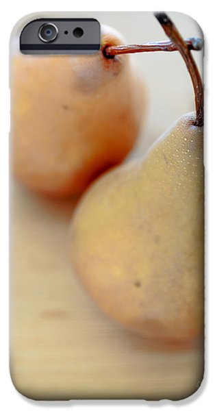 Pears iPhone Cases - Pears iPhone Case by Edward Fielding