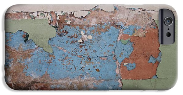 Alcatraz iPhone Cases - Peeling Paint  iPhone Case by Christy Pooschke