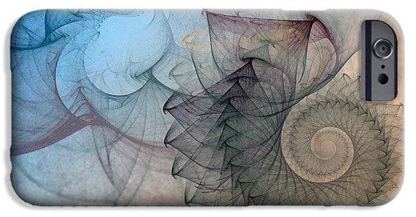 Fractal iPhone Cases - Pefect Spiral iPhone Case by Karin Kuhlmann