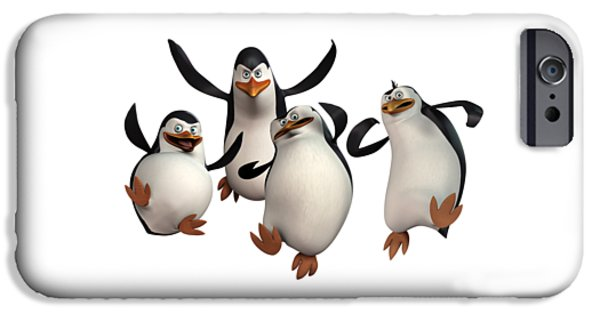 David iPhone Cases - Penguins of Madagascar 2 iPhone Case by Movie Poster Prints