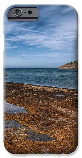 Penmon Lighthouse iPhone Case by Adrian Evans