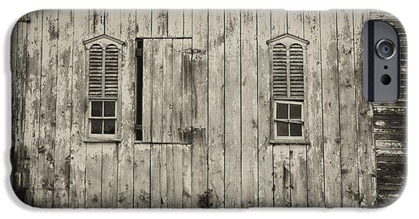 Old Barns iPhone Cases - Pennsylvania Dutch Barn iPhone Case by Hugh Smith