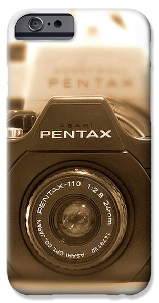 Pentax 110 Auto iPhone Case by Mike McGlothlen