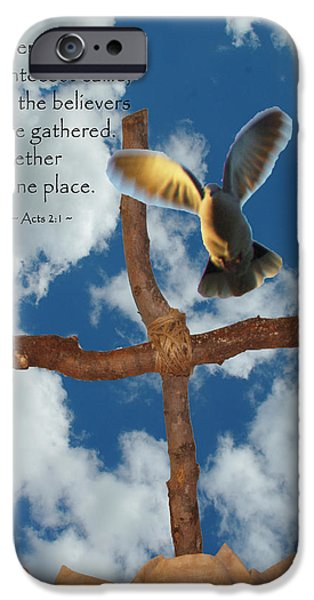Pentecost iPhone Case by Robyn Stacey