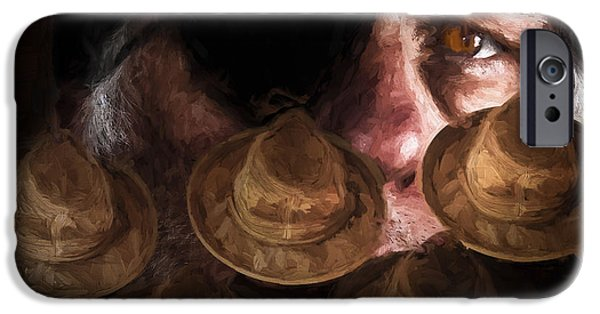 Macabre iPhone Cases - People In The Box iPhone Case by Bob Orsillo