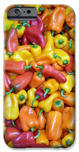 Peppers iPhone Case by David Bearden