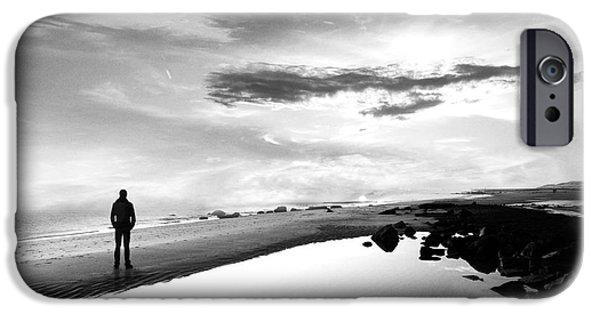 B iPhone Cases - Per Sempre iPhone Case by Photodream Art