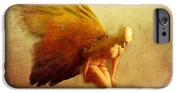 Conceptual Mixed Media iPhone Cases - Perception iPhone Case by Photodream Art