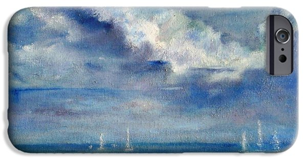 Sailboat Ocean iPhone Cases - Perfect Day iPhone Case by Jamie Frier
