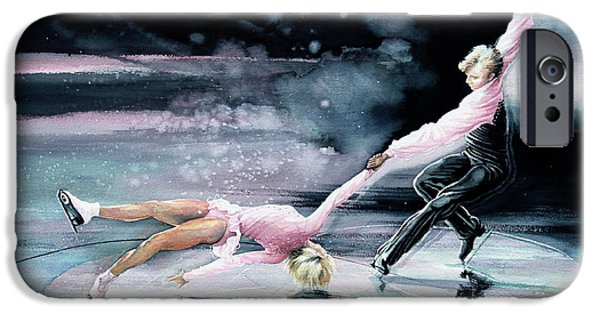 Kids Sports Art iPhone Cases - Perfect Harmony iPhone Case by Hanne Lore Koehler