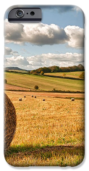 Perfect Harvest Landscape iPhone Case by Amanda And Christopher Elwell
