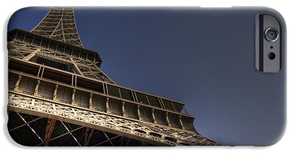 Landmarks Photographs iPhone Cases - Perspective iPhone Case by Sophie De Roumanie