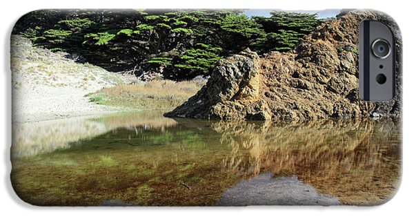 Pfeiffer Beach iPhone Cases - Pfeiffer beach landscape iPhone Case by Pierre Leclerc Photography